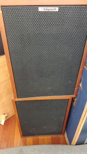 Klipsch Heresy ii speakers Stereo for Sale in Woodstock, MD