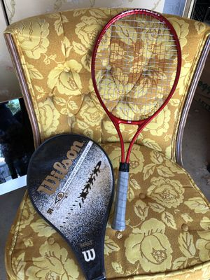 Excellent condition ultralight tennis racket for Sale in Salinas, CA