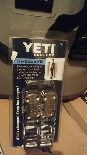 Yeti Cooler Tie Down Kit Brand New $25 for Sale in Austin, TX