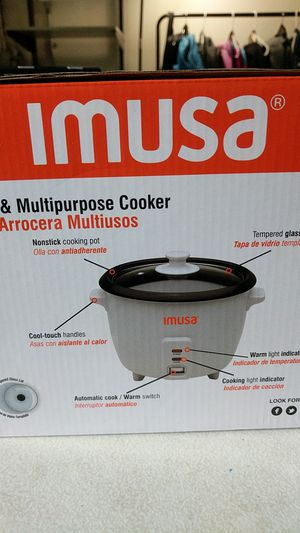 Imusa rice and multi purpose cooker for Sale in Fort Lauderdale, FL