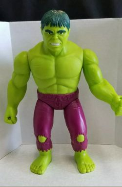 """VINTAGE 1991 TOY BIZ MARVEL INCREDIBLE HULK 15"""" FIGURE * GOOD USED CONDITION for Sale in West Sacramento,  CA"""