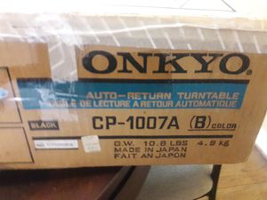 Onkyo turntable and receiver straight arm for Sale in Tucker, GA