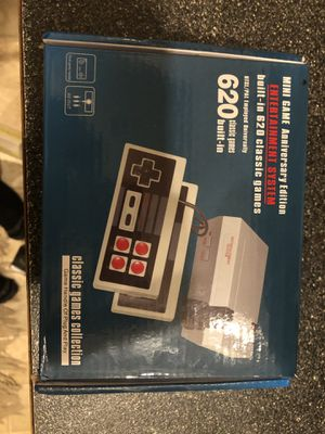 Nintendo comes with 2 controllers and 620 games built in for Sale in Normandy Park, WA
