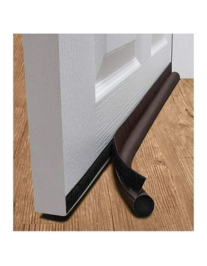 "Door Draft Stopper 36"" One Sided Bottom Door Insulator Self Adhesive Tape Brown for Sale in Hamburg, NY"