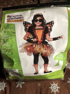 Butterfly costume size 8-10 girls for Sale in Los Angeles, CA