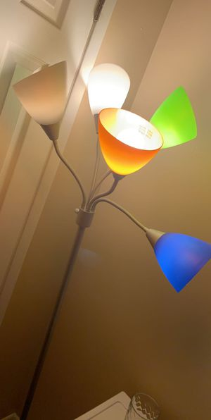 5 Different Colored Lamps for Sale in Peoria, IL