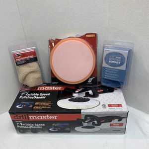 "Drill Master 7"" Variable Speed Polisher/Sander 62861 for Sale in Pelham, NH"