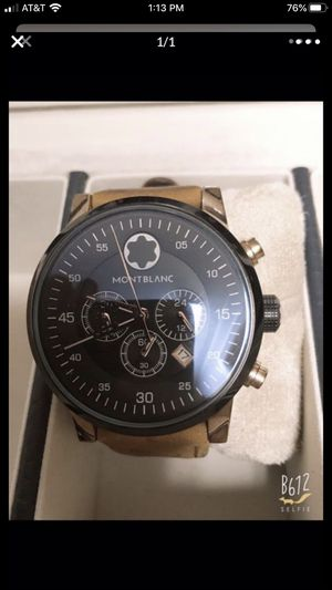 A1 montblanc watch sell for Sale in Centreville, VA