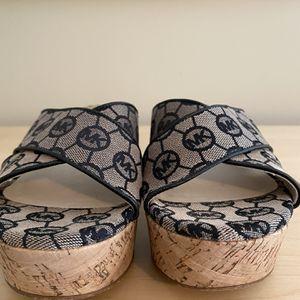 Michael kors Wedge Slides! Women's Size 7! Brand New! for Sale in Trenton, NJ