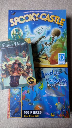 3 New Game Bundle for Suggested Ages 6+ for Sale in Kirkland, WA