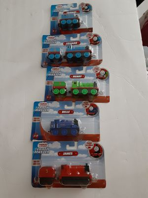 Thomas & Friends Track Master Push Along Engine Lot Belle Edward James Henry Tho for Sale in Miami, FL