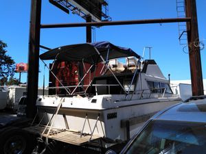 24 foot fishing boat. As is.registration up to date. With pink slip. Willing to trade show what you have.boat needs some work . for Sale in Los Angeles, CA