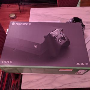 Xbox One X BOX ONLY for Sale in Los Angeles, CA