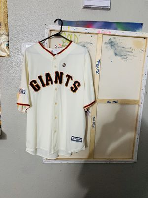 MLB SAN FRANCISCO GIANTS Buster Posey (Authentic World Series Baseball Jersey) for Sale in Houston, TX