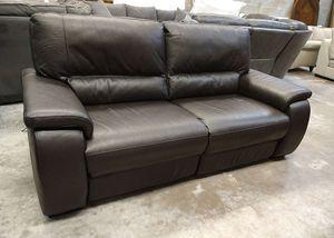 """Marcella 88"""" Italian leather sofa for Sale in Decatur, GA"""