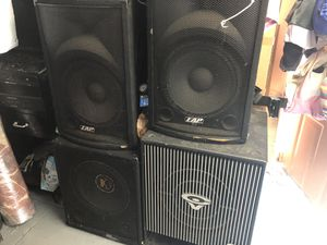Home music system, dj equipment. for Sale in Queens, NY