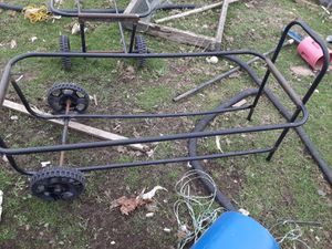 Two trash carts with wheels for Sale in Puyallup, WA