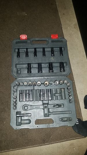 Crescent Brand socket wrench set for Sale in Fresno, CA