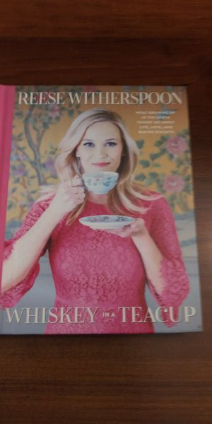 Reese Witherspoon Whiskey in a Tea Cup book for Sale in Gardena, CA