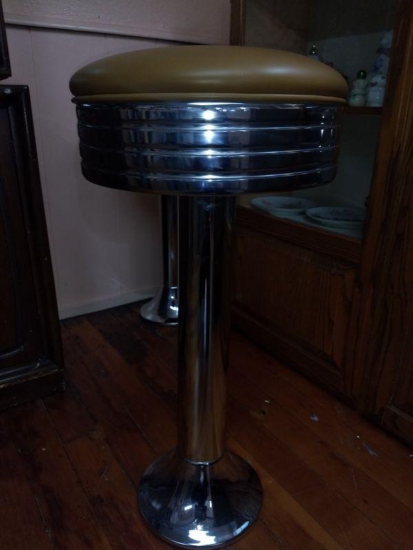 Antique bar stools