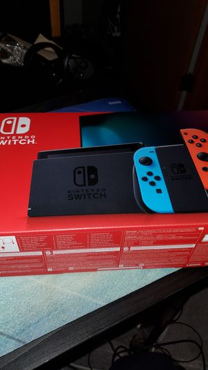 Nintendo Switch GEN 2 BRAND NEW NEVER USED for Sale in Plainfield, IL