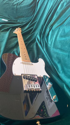 Fender telecaster (black and white) for Sale in Westminster, CA