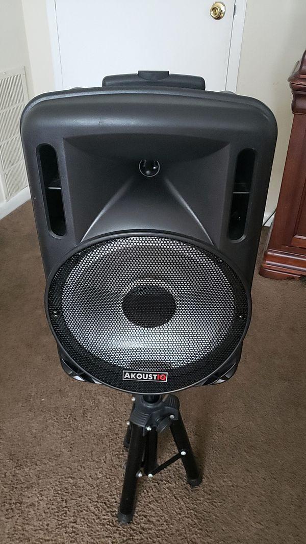 AkoustiQ speaker is still new