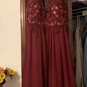 Burgundy Dress - Like New for Sale in Norcross, GA