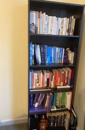 Black wooden bookshelves for Sale in Seattle, WA