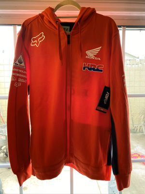 Fox Factory HRC Honda ZIP Hoodie for Sale in Santa Ana, CA