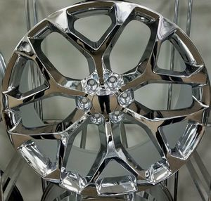 "Available in 22"" and in 24"" chevy gmc wheels 6 lug 6x139.7 for Sale in Pembroke Pines, FL"