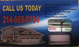 Garage door for Sale in Dallas, TX