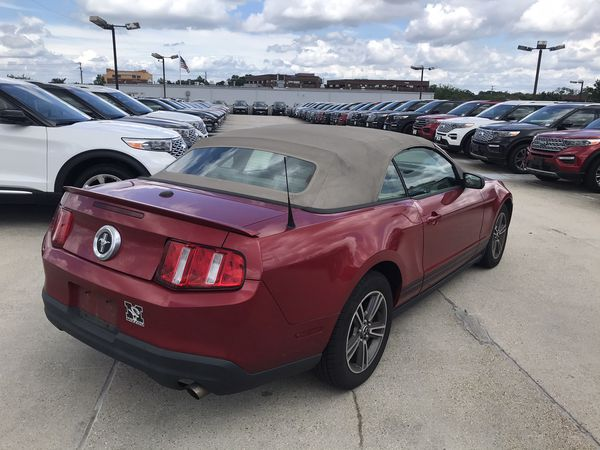 2010 Ford Mustang Convertible V6 with 102,000 miles for $9,598