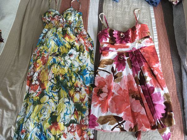 Women's Junior Summer dresses size Small and Size 11