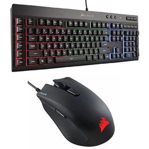 Corsair K55 Keyboard And Corsair Harpoon for Sale in Woodbridge, VA