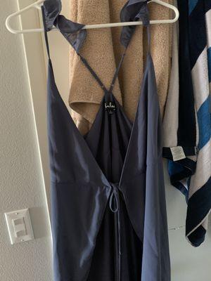 Lulus- Slate blue dress size: Large 12 for Sale in Orange, CA