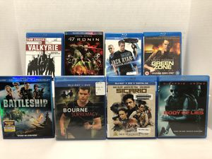 Blu Ray action Bundle for Sale in Orland Park, IL