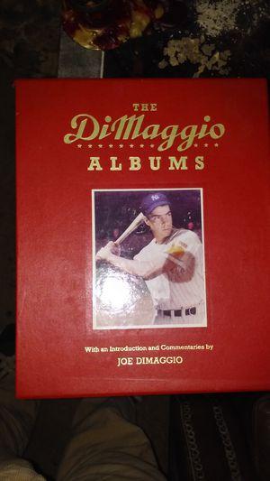 The DiMaggio Albums 2 Book Set with Case for Sale in Escondido, CA