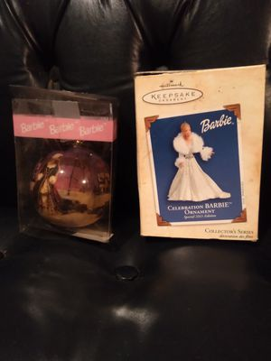Vintage Barbie Christmas tree decorations for Sale in Brooksville, FL