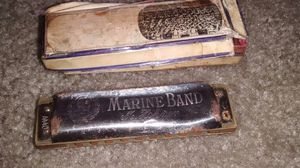 M Kohner Marine Band harmonica vintage for Sale in Perris, CA