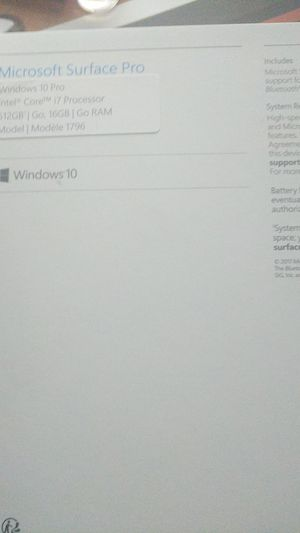 Surface pro 6 for Sale in Frederick, MD