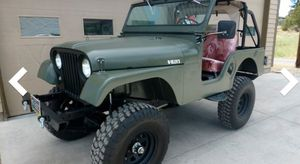 1960's Willy's Jeep. 4 wheel drive Roll bar for Sale in Riverside, CA