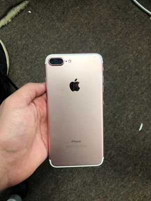 Iphone 7 plus 32GB unlocked for Sale in Inkster, MI