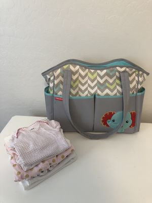 Diaper Bag and Baby clothing for Sale in undefined