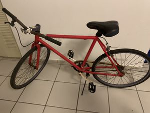 """""""Fixie"""" single speed 26inch bicycle road bike for Sale in Miami, FL"""