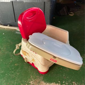 Fisher Price Booster Seat High Chair for Sale in Escondido, CA