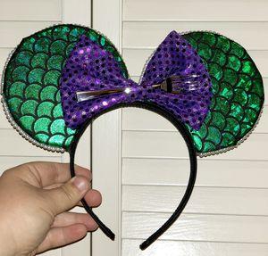 Mermaid Mickey Ears for Sale in Davenport, FL