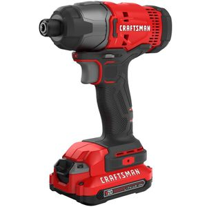 CRAFTSMAN 20-Volt Max 1/4-in Variable Speed Cordless Impact Driver (CMCF800C1) for Sale in Fort Lauderdale, FL