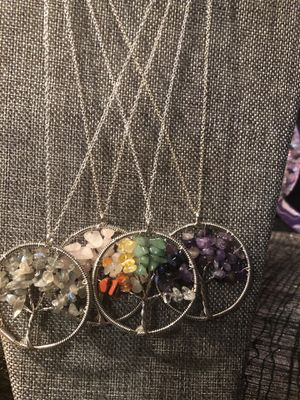Assorted crystal necklaces for Sale in Oceanside, CA