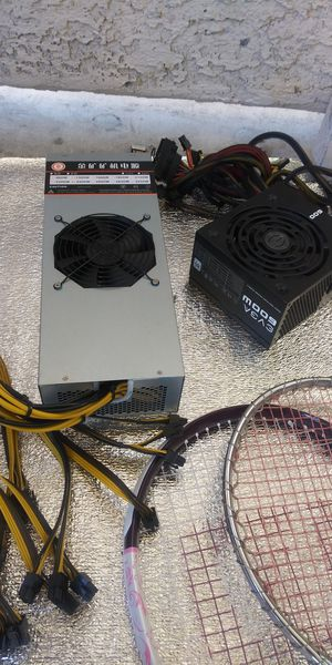 Bit coin (switching power supply) and M009 VEAE some computer parts for Sale in Las Vegas, NV